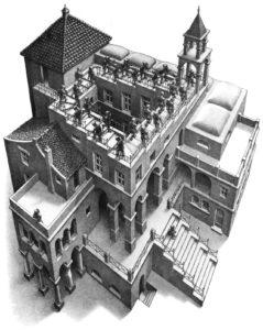Escher's Ascending / Descending