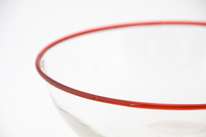 Clear, Simple Bowl