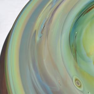 Blue Green Red Platter Detail